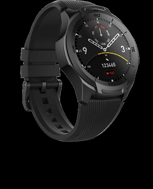TicWatch S2 smartwatch,Mobvoi AI wearable technology