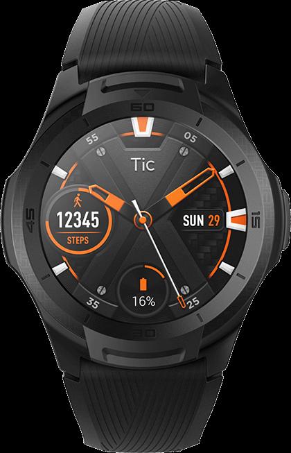 Reloj inteligente de TicWatch S2, tecnología usable, Movable